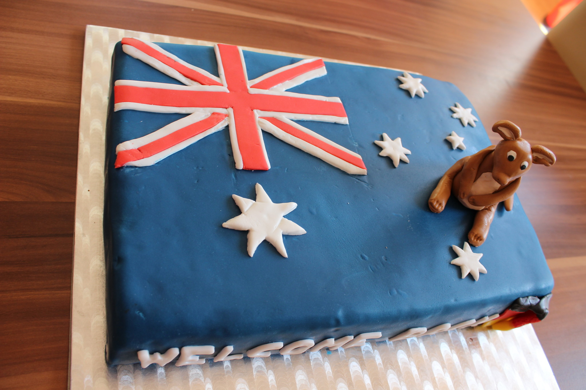 Australientorte - Welcome back little sister - Sarahs Cakes