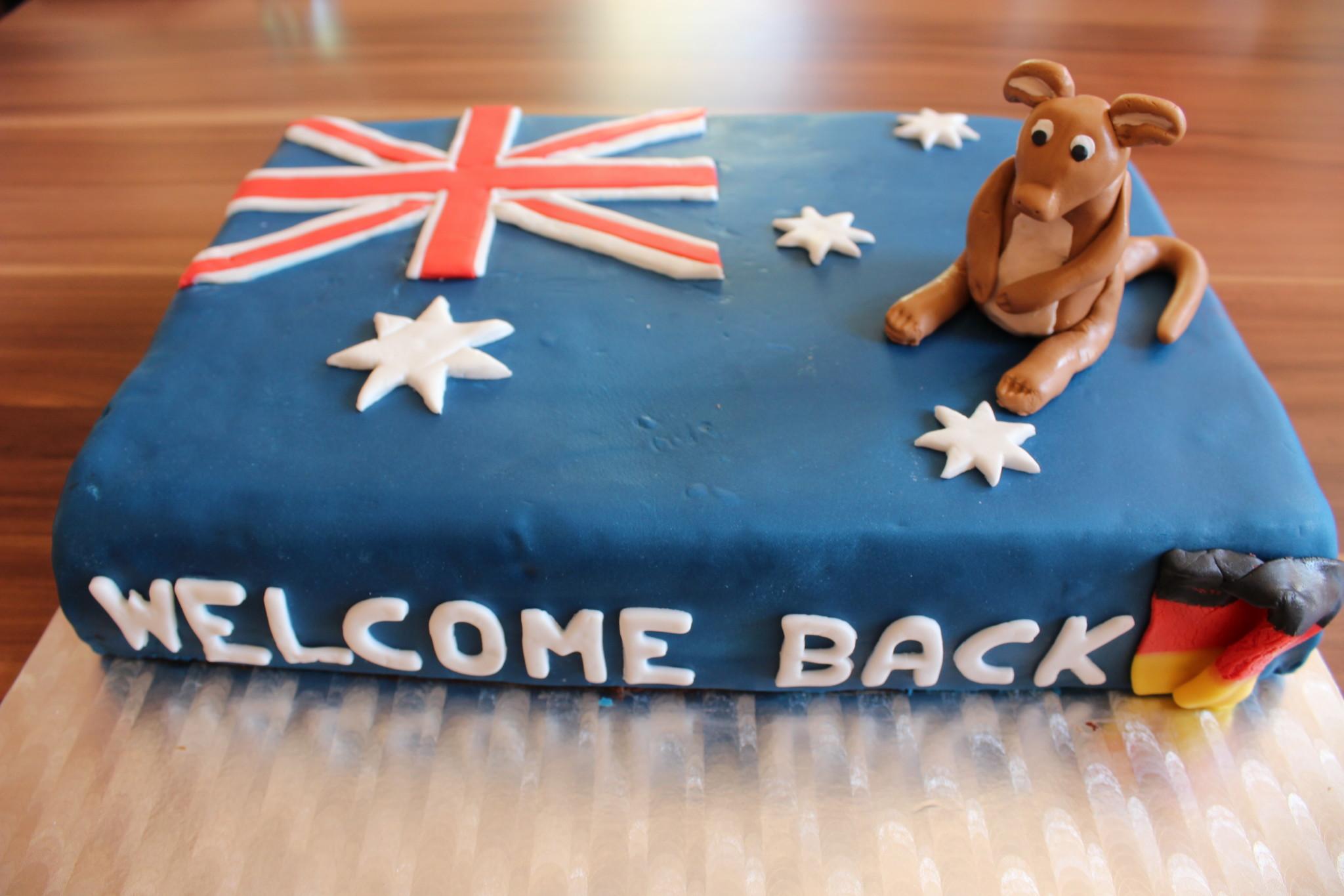 australientorte welcome back little sister sarahs cakes. Black Bedroom Furniture Sets. Home Design Ideas