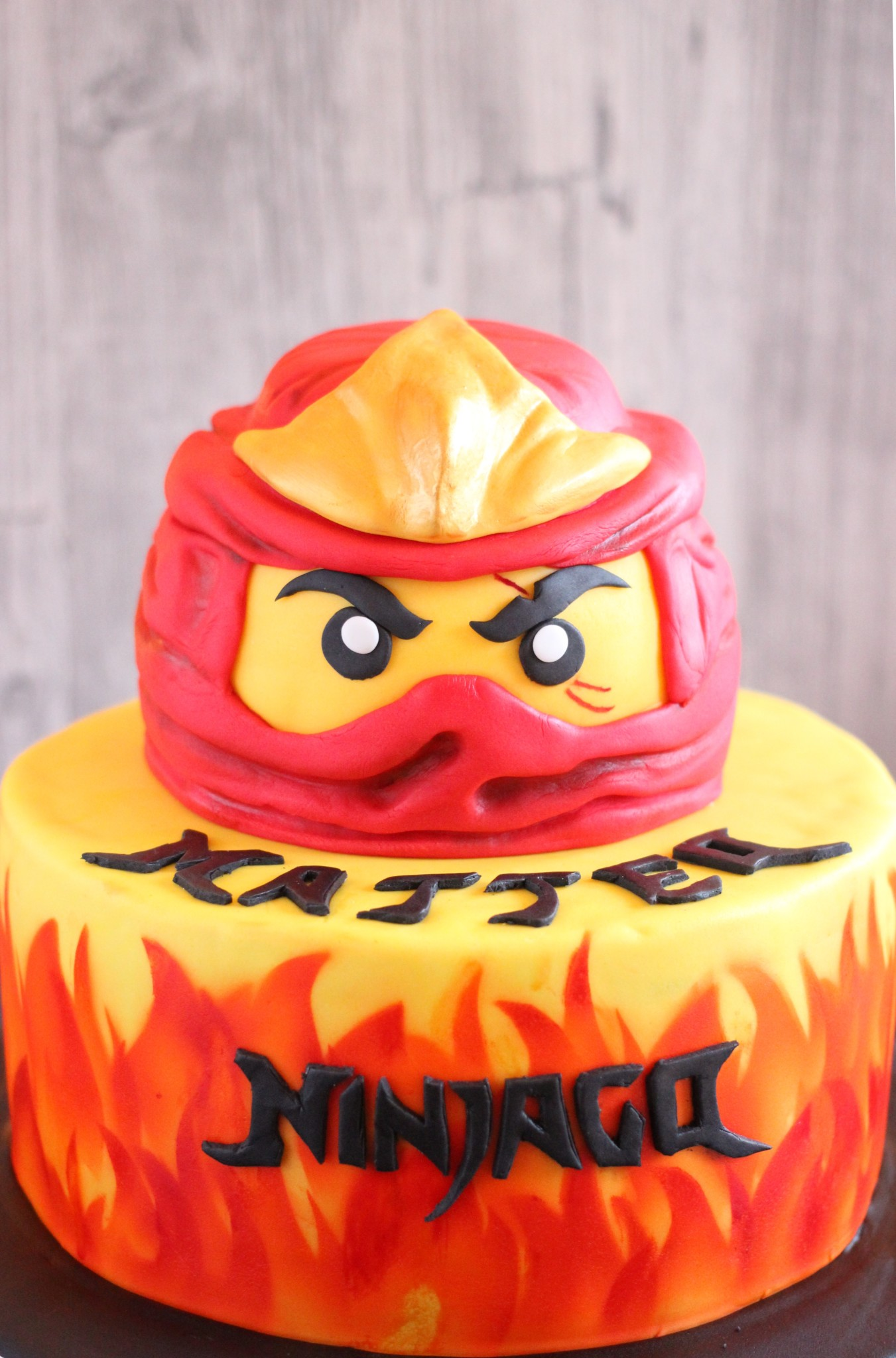Ninjago Cakes Pictures